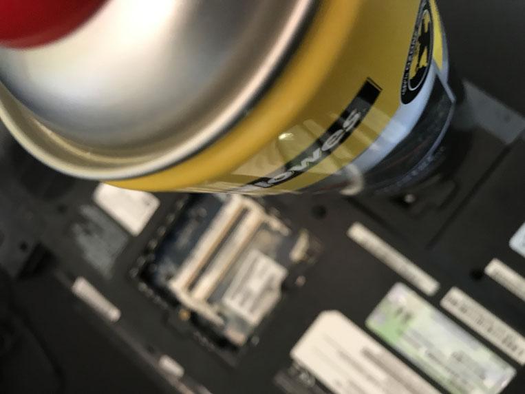 Druckluftreinigungsspray für Computer | memcantgetreserved
