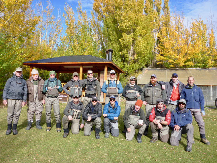 Unsere Gruppe in Las Buitreras