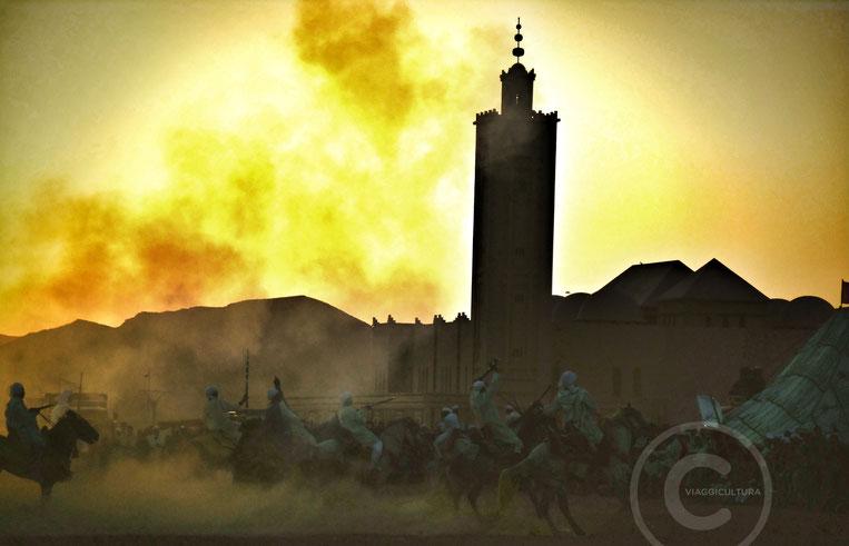 Fantasia Tbourida, Bouarfa - Marocco
