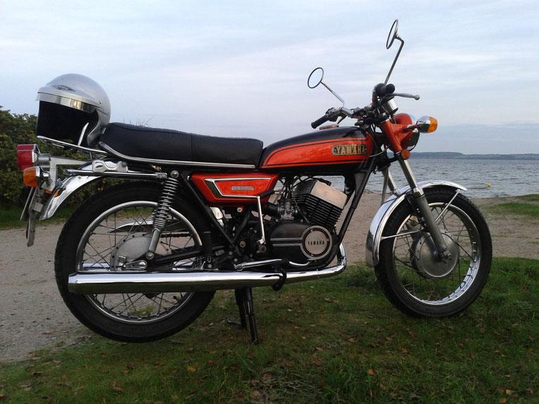 Die `72er R5F von Klaus Plichter. Sehr guter originaler Zustand! Ob das an der Ostsee-Luft liegt?