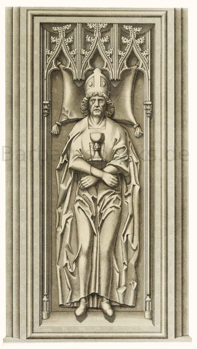 Grabdenkmal des Bernhard von Breidenbach (gest. 1497).