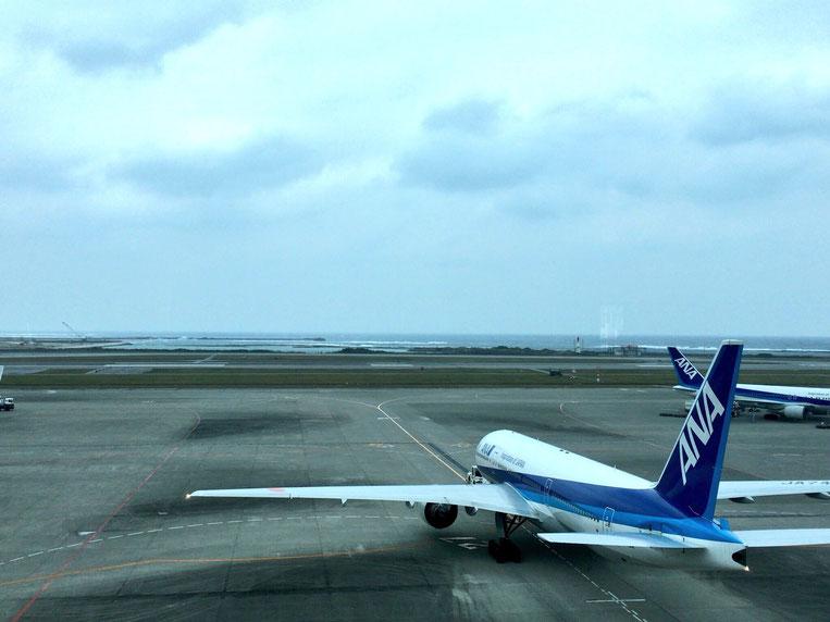 那覇空港からの景色