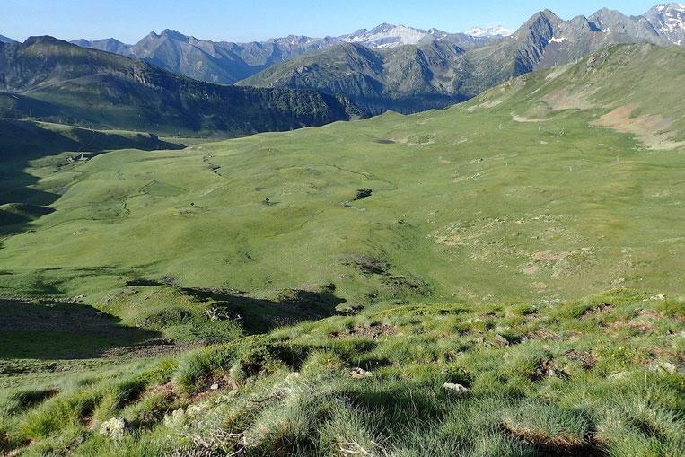 Une partie du domaine skiable de Saint-Lary.
