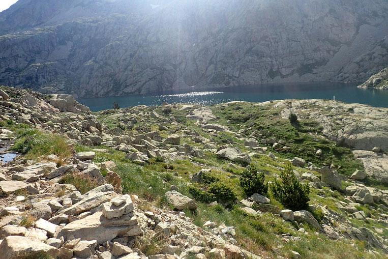 Le Lac Bachimaña Alto (2207m).