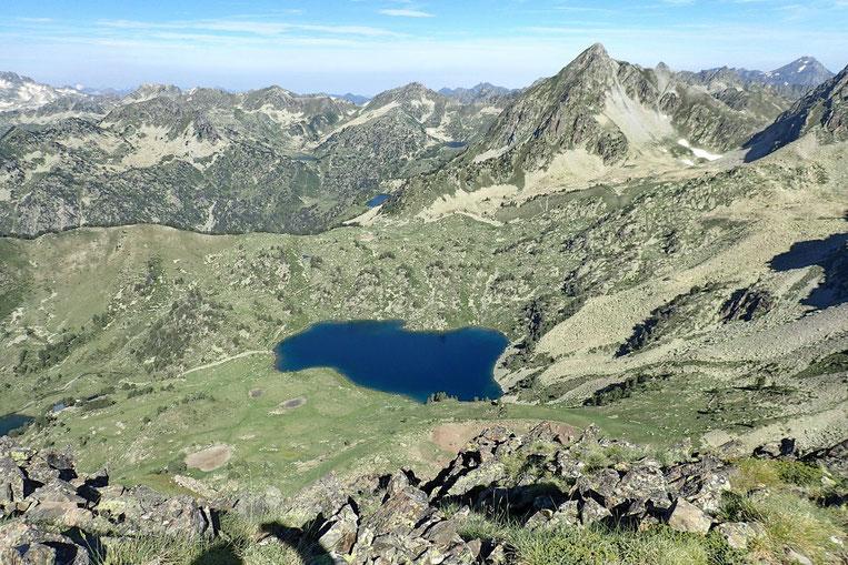 Le Lac Supérieur (de Bastan), objectif du casse croute...