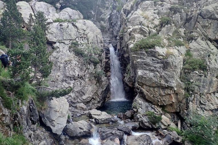 """De belles cascades avec de belles """"piscines""""."""