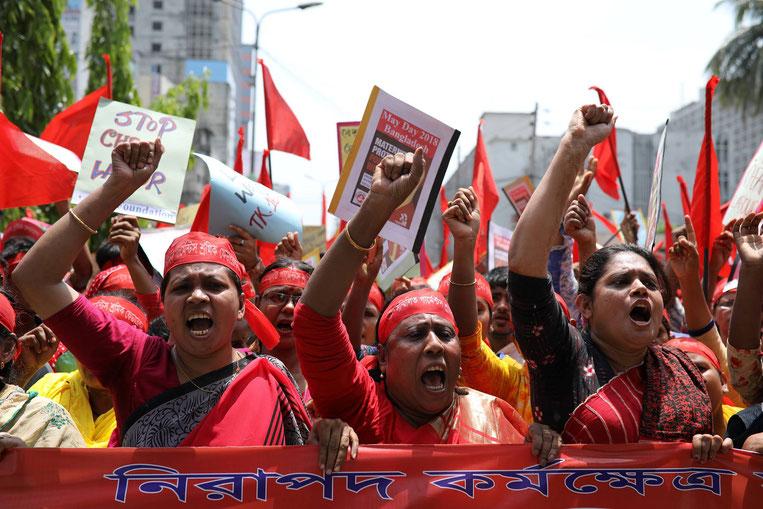 Primo maggio 2018, Dhaka (Bangladesh)