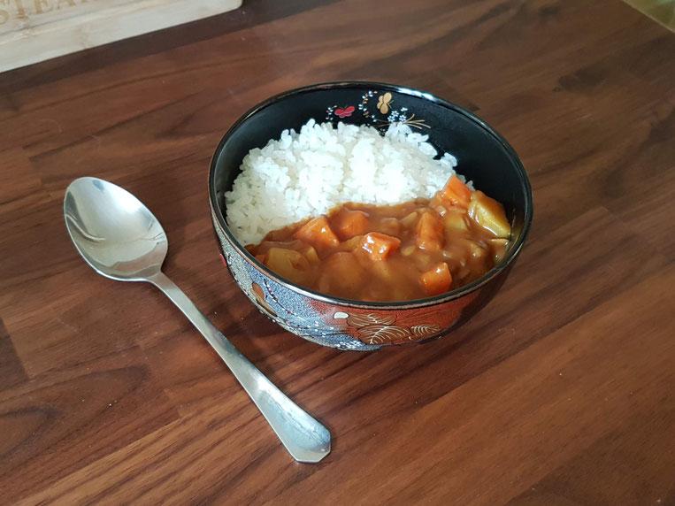 Kareraisu recette du curry japonais