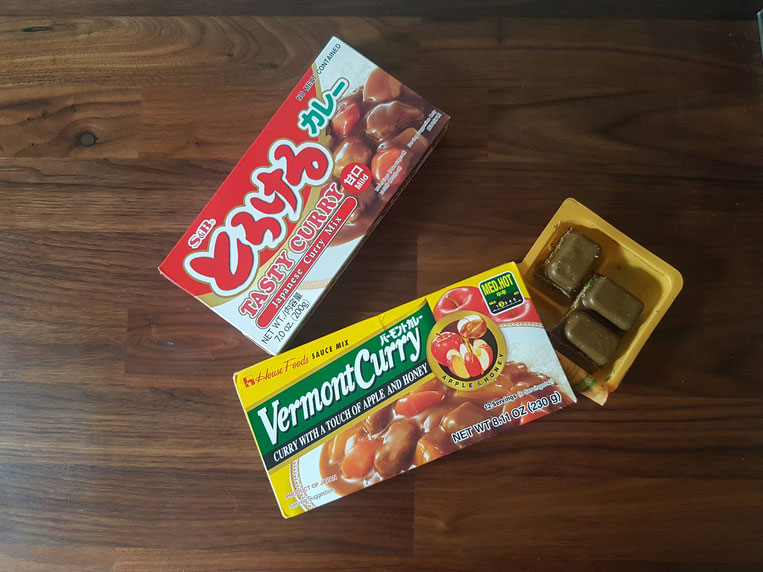 Curry japonais épices japonaises condiments japonais recette japonaise