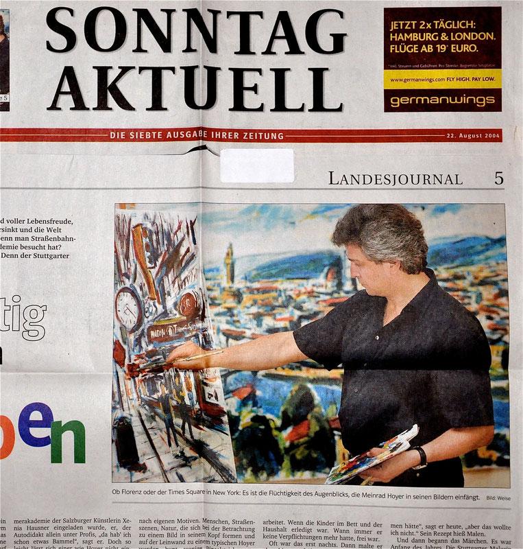 Zeitung Sonntag Aktuell