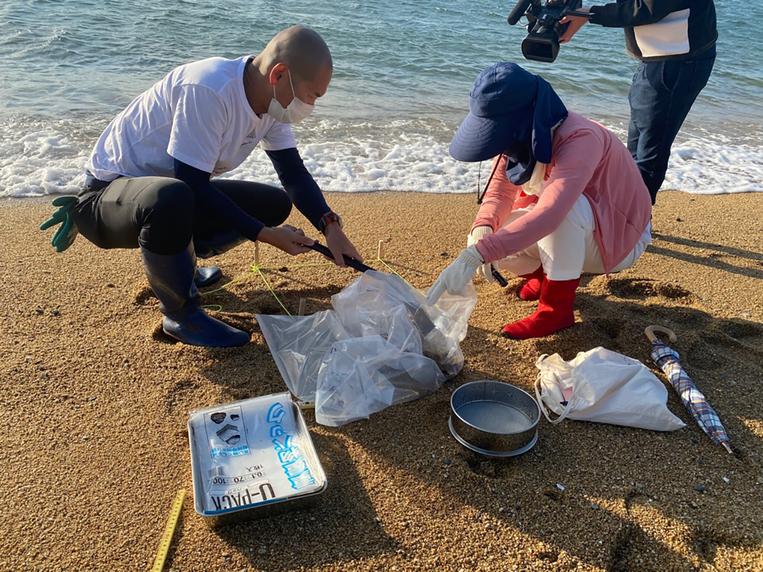 粟島における海洋環境調査