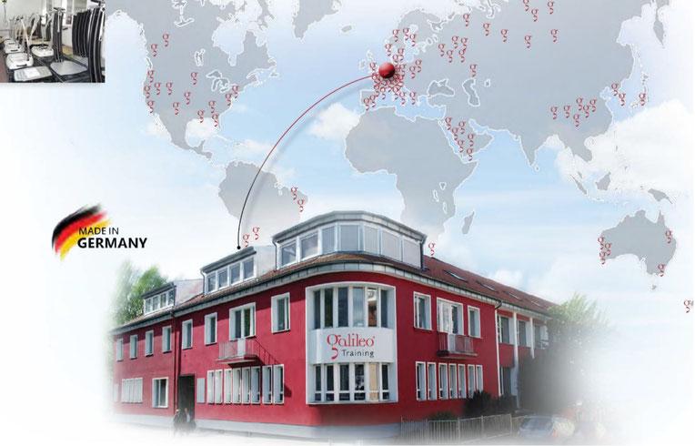 Im Bild Firma Novotec Medical GmbH. Hersteller von Vibrationsplatten und Vibrationshanteln