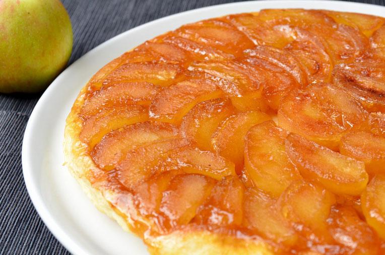 Tarte Tatin der beste und schnellste Apfelkuchen