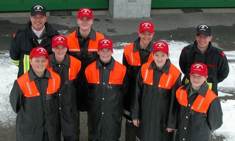 Jugendgruppe 2004