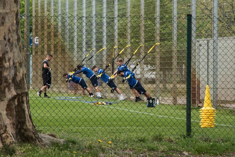 Training nur noch hinter dem Zaun