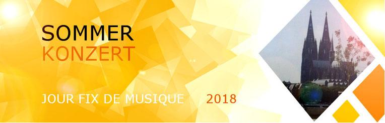 Sommer Konzert  - Jour fix de Musique 2018