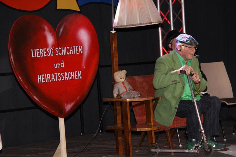 """Kanzler Peter Lanz als """"Rolf Holub"""""""