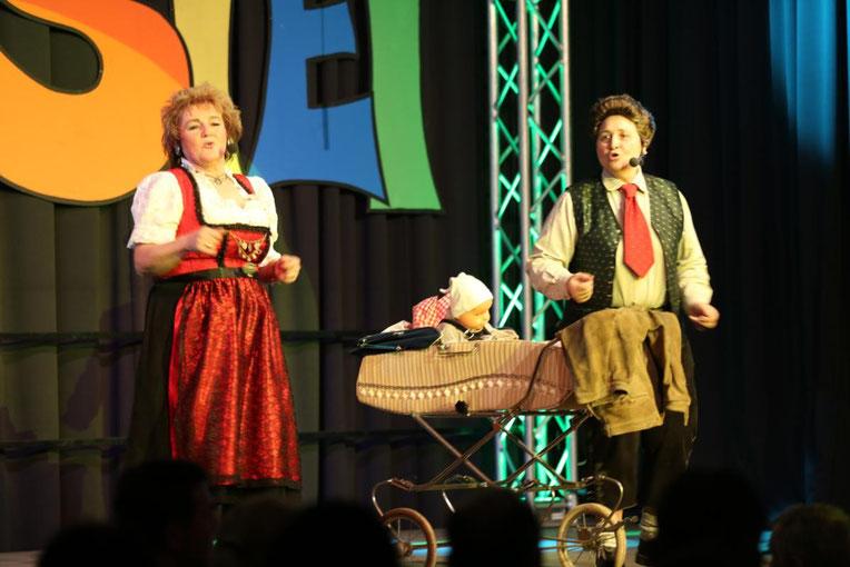 """Helga Lusar und Barbara Hutter-Klammer als """"Marianne u. Michael"""""""