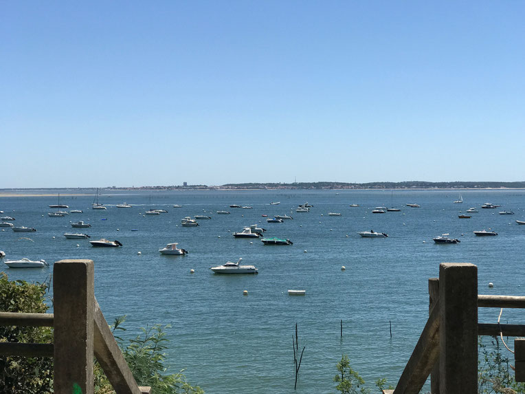 Grand Piquey looking out over Arcachon Bay