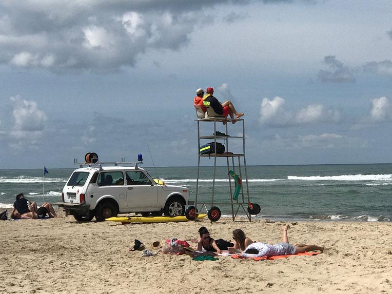 Soulac-sur-Mer beach