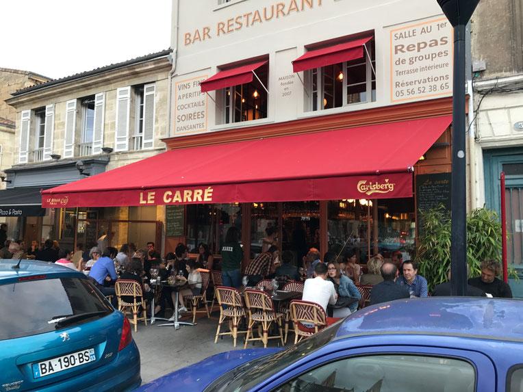Dinner at Le Carré, Marché des Chartrons