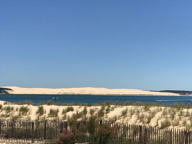La Pointe looking towards Dune of Pilat