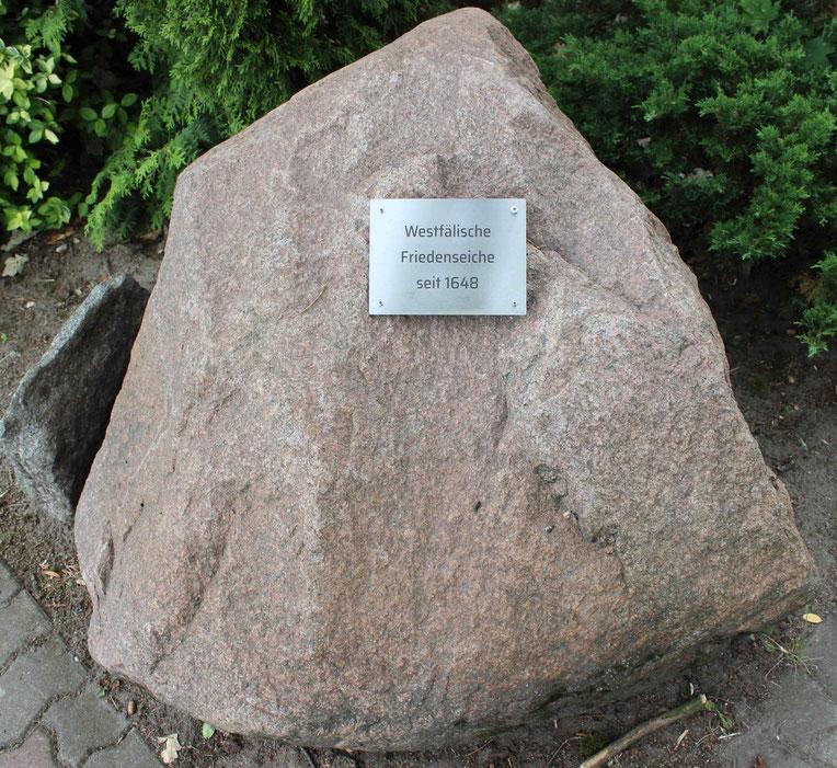 Denkmal Friedenseiche von Eggersdorf Märkisch-Oderland