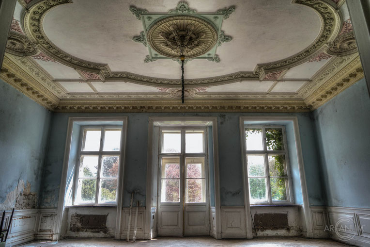 Abandoned Neo-Classical Castle in Germany