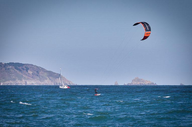 Kitesurfen in Cornwall und Devon