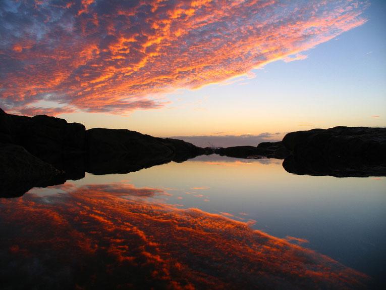 Sunrise at Boat Harbour, Australia. Copyright by Graham Howard (c) 2014