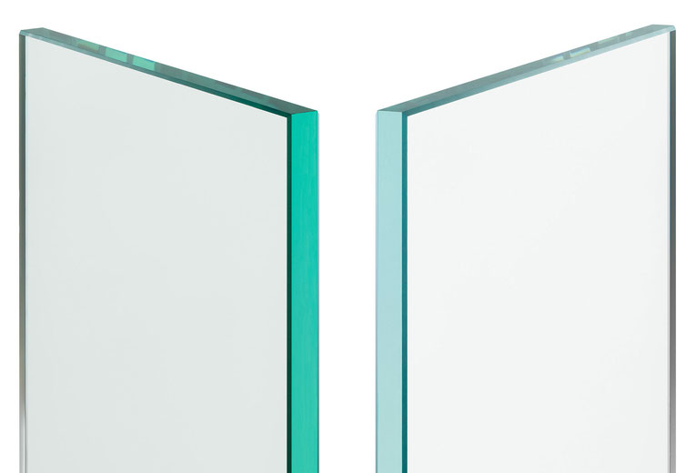 Floatglas und Weissglas - der Unterschied