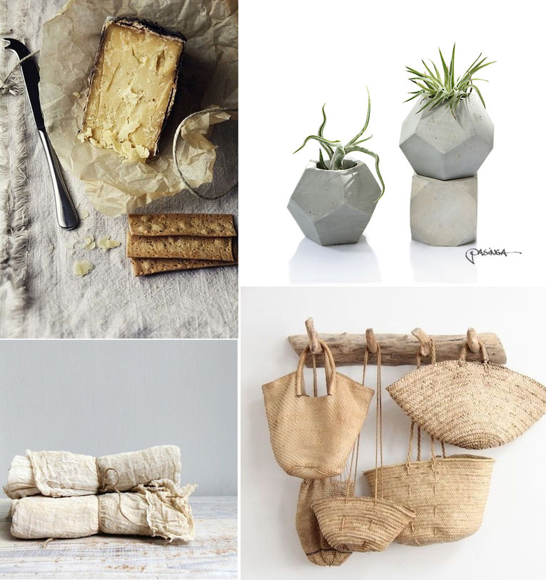 'Modern Rustic Accessories'  Visual Board with images via Pinterest and PASiNGA
