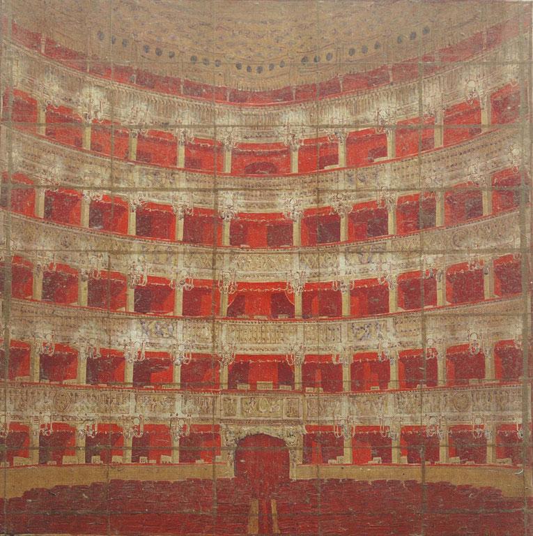 Les Loges Rouge et Or du Teatro San Carlo de Naples
