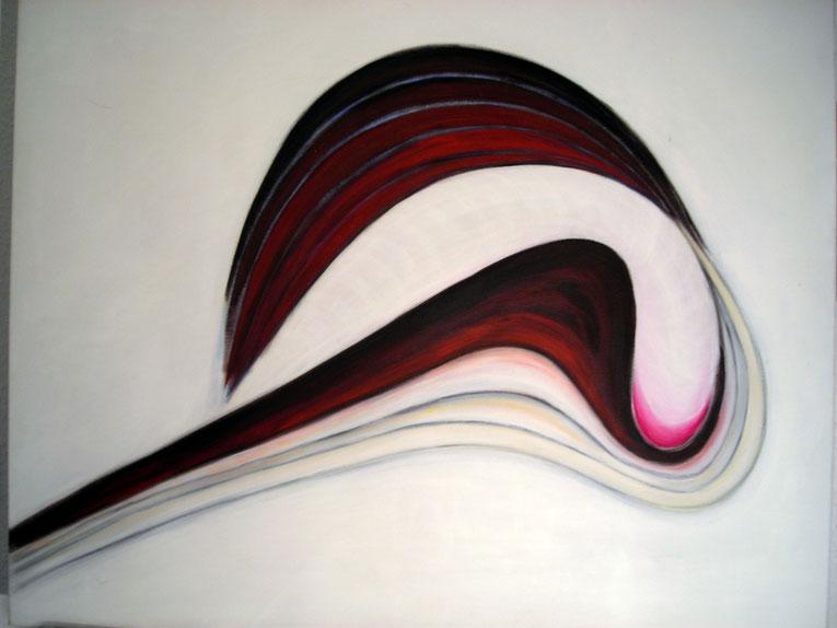 Linien, Acryl auf Leinwand, 70 x 90, Preis € 1.600,00