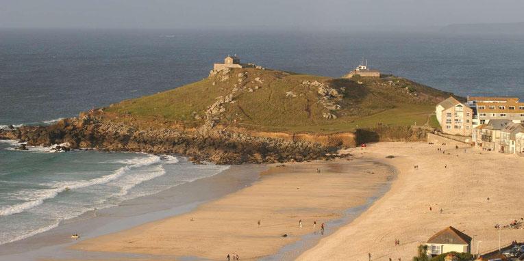 """Cornwall Strand bei St. Ives auf der Reise """"Cornwall kurz & knackig"""" von My own Travel"""