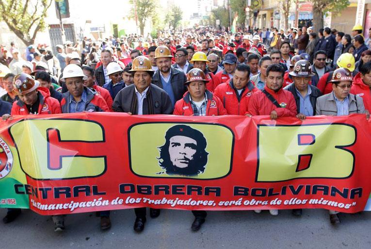 Primo maggio 2018, Oruru (Bolivia)
