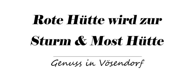 Rote Hütte,  Sturmzeit, Sturm Hütte, Weghofer