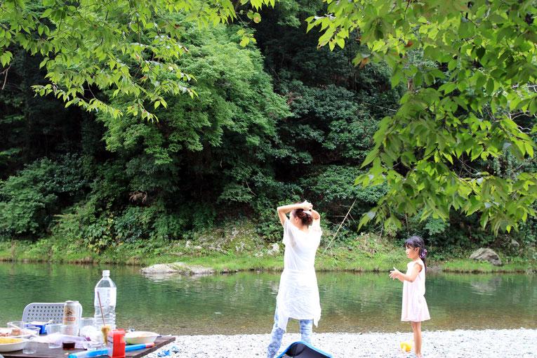 東京都の自然豊かな町 あきる野市のキャンプ場でbbq 株式会社これから