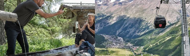 SaastalCard Sommer Bergbahnen und Postauto inklusive