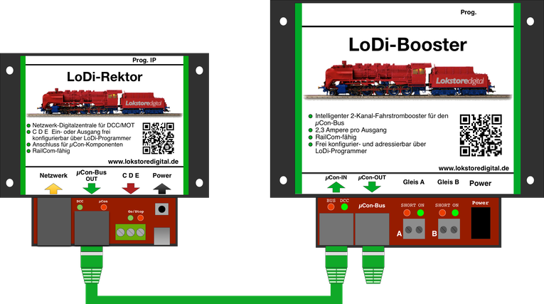 LoDi-Booster - lokstoredigitals Webseite!