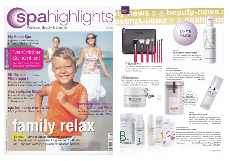 SPA HIGHLIGHTS DEZ2014/JAN2015 I DETOX Cristalsalt Scrub & Bath NARANJA MALLORQUIN COLLECTION