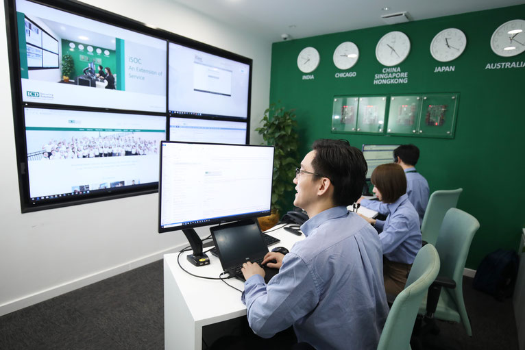 ICD's Service Operations Center (iSOC) in Shanghai