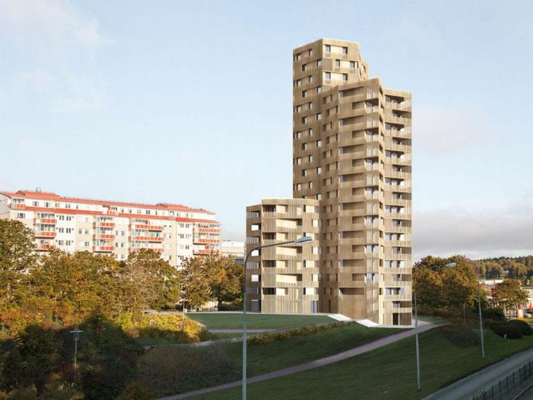 Architekten bauen Holzhochhäuser! Alter Baustoff - neu entdeckt