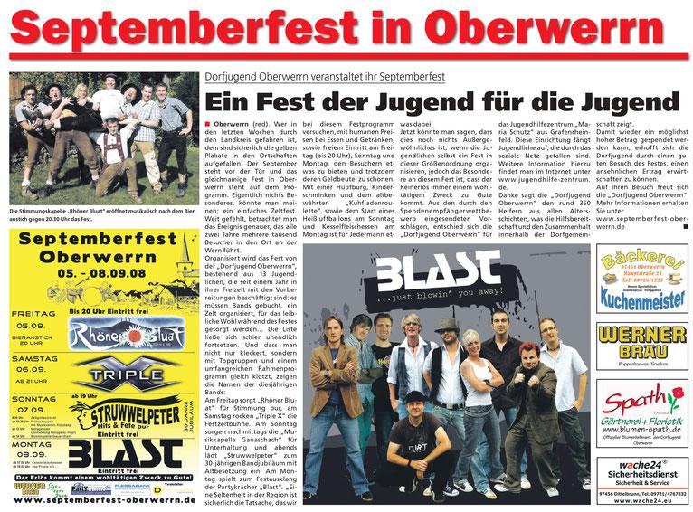 24.08.2008 Schweinfurter Anzeiger