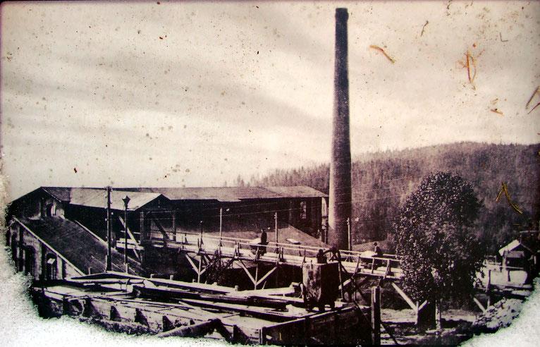 Bergbau Bergwerk Tschechien Roudný Wenzel-Schacht šachta Václav Goldbergbau