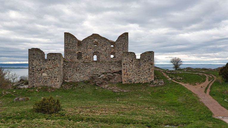 Brahehus - Ruine, 1708 abgebrannt