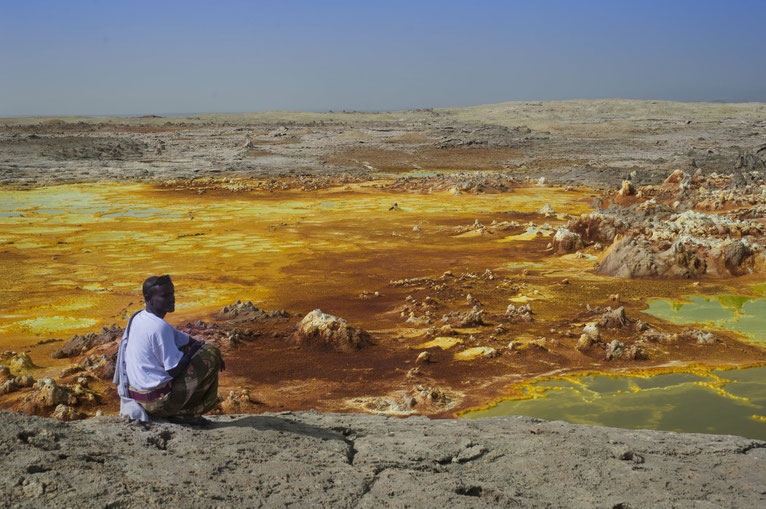 """""""Ethiopie - Dépression du Danakil - site du Dallol"""""""