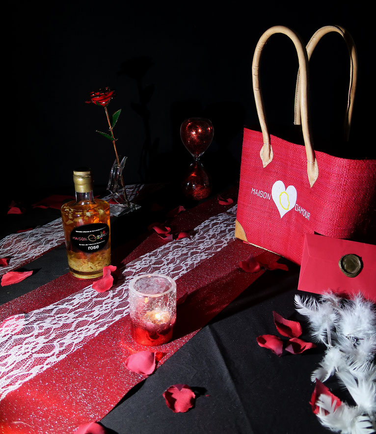 rhum arrangé St Valentin