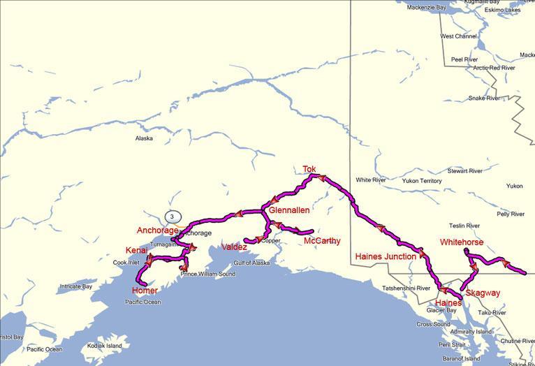 Alaskas Süden - MAN Expeditionsmobil Expeditionsmobile ...