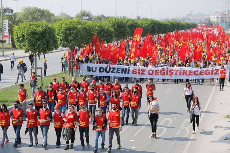Primo maggio 2018, Istanbul (Turchia)